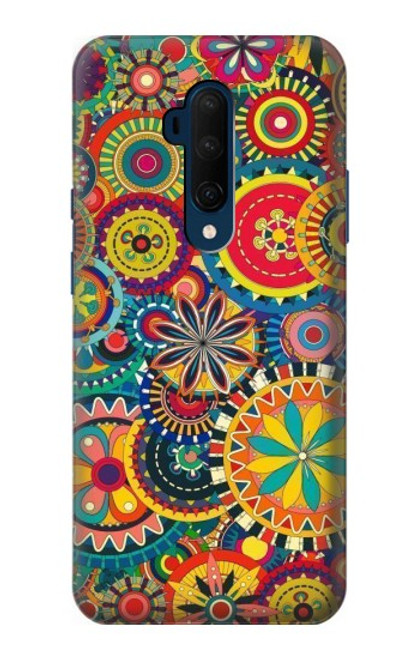 S3272 Colorful Pattern Case For OnePlus 7T Pro