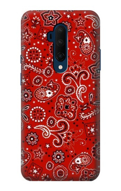 S3354 Red Classic Bandana Case For OnePlus 7T Pro
