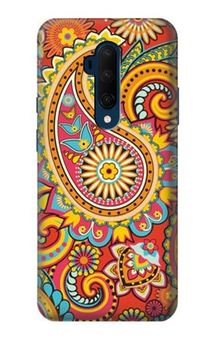S3402 Floral Paisley Pattern Seamless Case For OnePlus 7T Pro