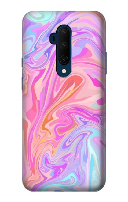 S3444 Digital Art Colorful Liquid Case For OnePlus 7T Pro