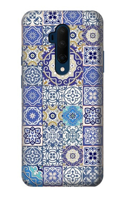 S3537 Moroccan Mosaic Pattern Case For OnePlus 7T Pro