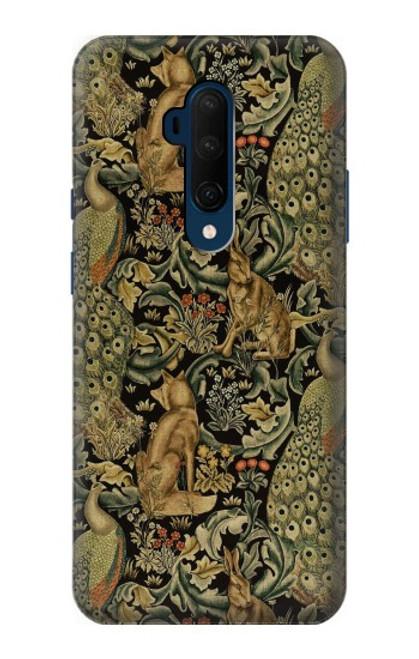 S3661 William Morris Forest Velvet Case For OnePlus 7T Pro