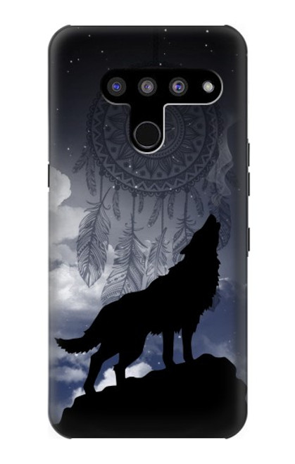 S3011 Dream Catcher Wolf Howling Case For LG V50, LG V50 ThinQ 5G