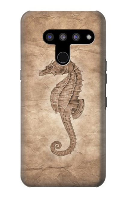 S3214 Seahorse Skeleton Fossil Case For LG V50, LG V50 ThinQ 5G