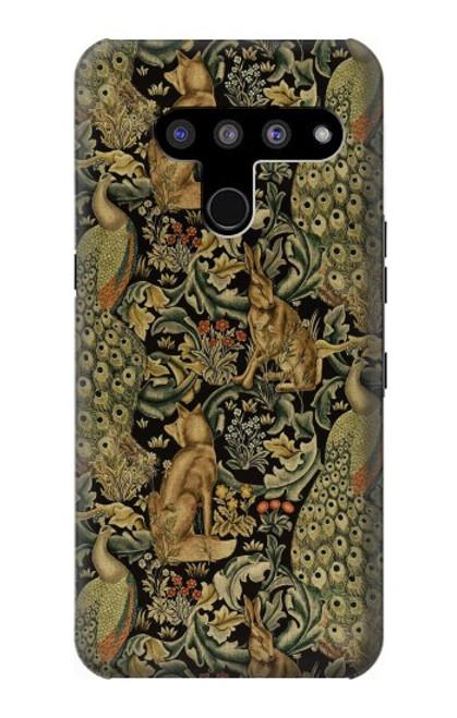 S3661 William Morris Forest Velvet Case For LG V50, LG V50 ThinQ 5G