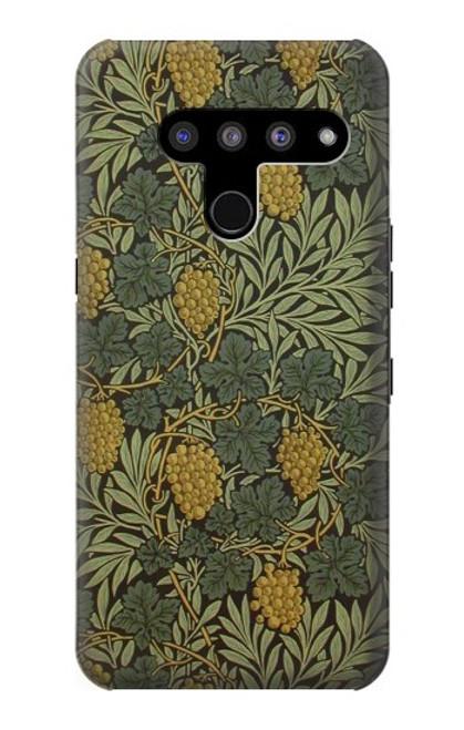 S3662 William Morris Vine Pattern Case For LG V50, LG V50 ThinQ 5G