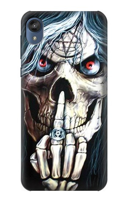 S0222 Skull Pentagram Case For Motorola Moto E6, Moto E (6th Gen)