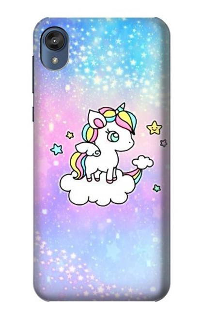 S3256 Cute Unicorn Cartoon Case For Motorola Moto E6, Moto E (6th Gen)