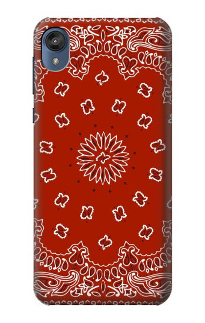 S3355 Bandana Red Pattern Case For Motorola Moto E6, Moto E (6th Gen)