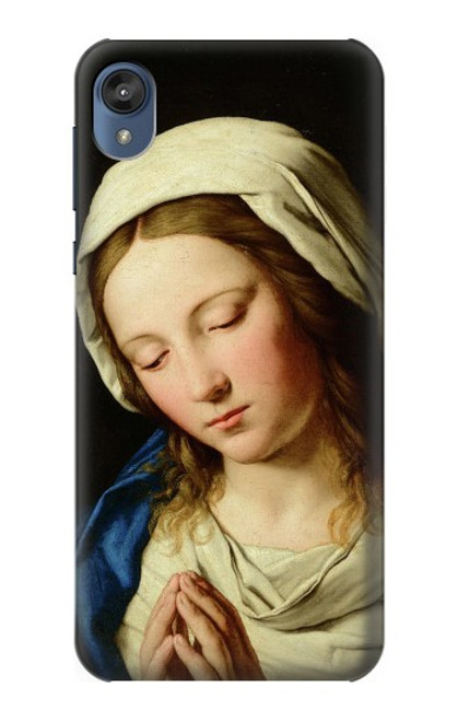 S3476 Virgin Mary Prayer Case For Motorola Moto E6, Moto E (6th Gen)