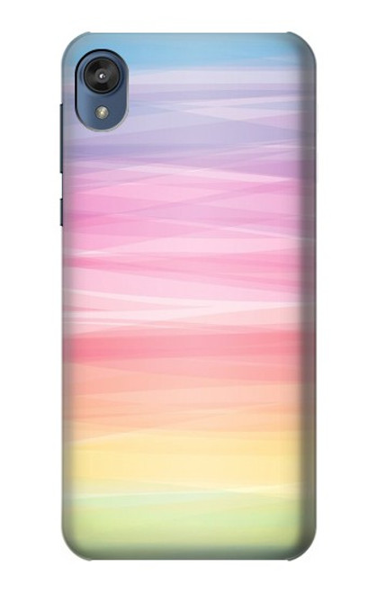 S3507 Colorful Rainbow Pastel Case For Motorola Moto E6, Moto E (6th Gen)