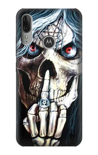 S0222 Skull Pentagram Case For Motorola Moto E6 Plus, Moto E6s