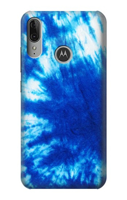 S1869 Tie Dye Blue Case For Motorola Moto E6 Plus, Moto E6s