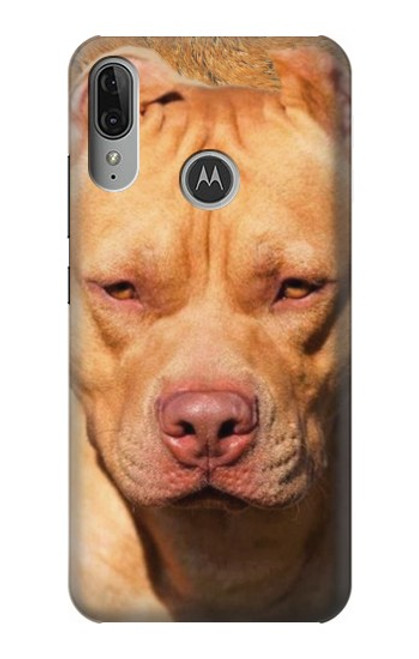 S2903 American Pitbull Dog Case For Motorola Moto E6 Plus, Moto E6s