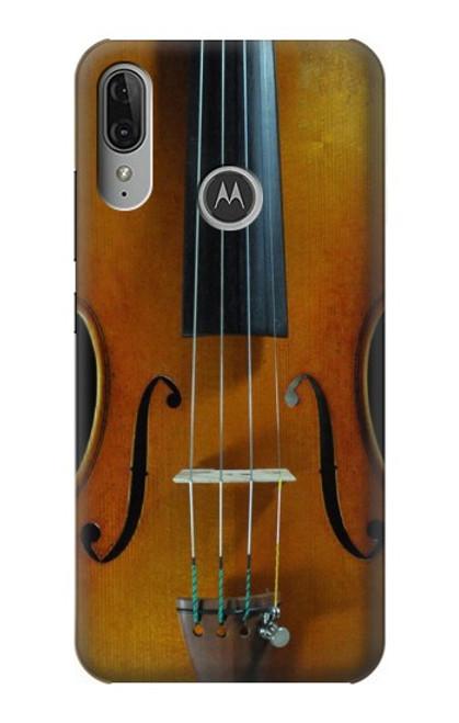 S3234 Violin Case For Motorola Moto E6 Plus, Moto E6s