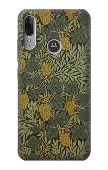 S3662 William Morris Vine Pattern Case For Motorola Moto E6 Plus, Moto E6s