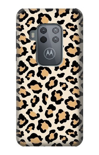 S3374 Fashionable Leopard Seamless Pattern Case For Motorola Moto One Zoom, Moto One Pro