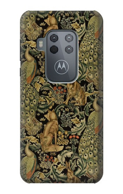 S3661 William Morris Forest Velvet Case For Motorola Moto One Zoom, Moto One Pro