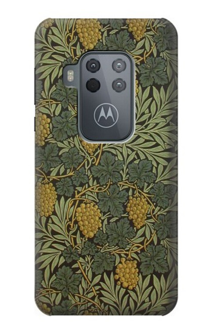 S3662 William Morris Vine Pattern Case For Motorola Moto One Zoom, Moto One Pro