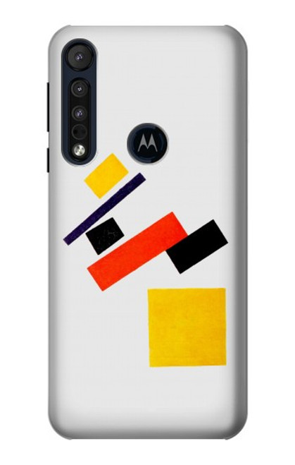 S1958 Malevich Suprematism Case For Motorola One Macro, Moto G8 Play