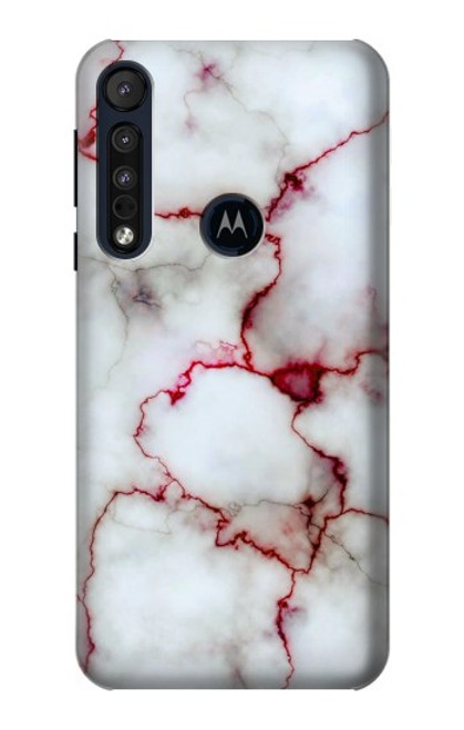 S2920 Bloody Marble Case For Motorola One Macro, Moto G8 Play