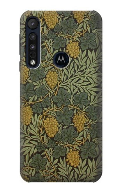 S3662 William Morris Vine Pattern Case For Motorola One Macro, Moto G8 Play