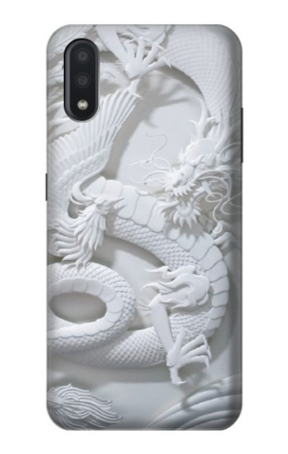 S0386 Dragon Carving Case For Samsung Galaxy A01