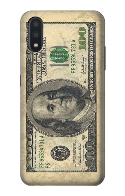 S0702 Money Dollars Case For Samsung Galaxy A01