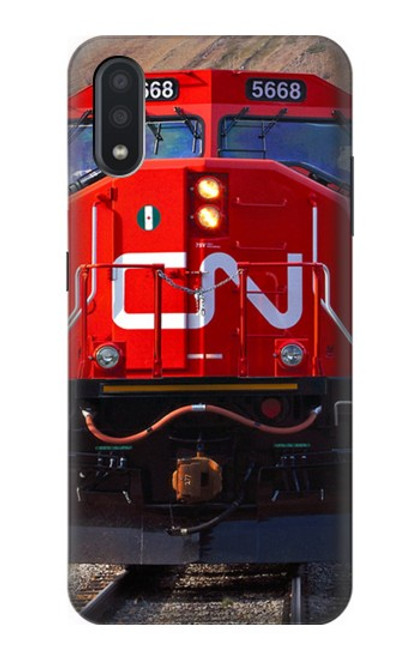 S2774 Train Canadian National Railway Case For Samsung Galaxy A01