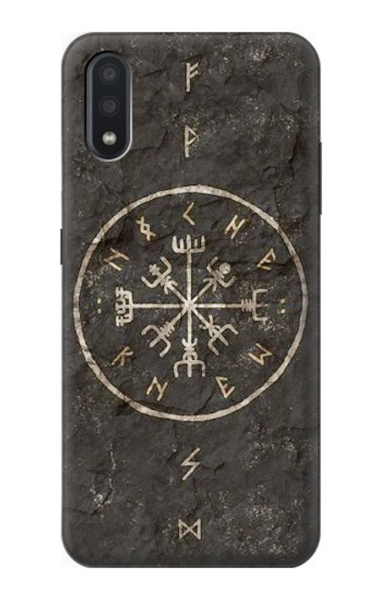 S3413 Norse Ancient Viking Symbol Case For Samsung Galaxy A01