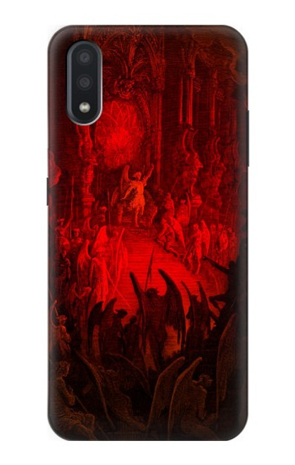 S3583 Paradise Lost Satan Case For Samsung Galaxy A01