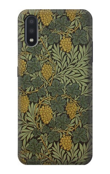 S3662 William Morris Vine Pattern Case For Samsung Galaxy A01