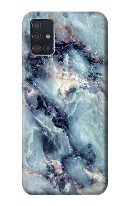S2689 Blue Marble Texture Graphic Printed Case For Samsung Galaxy A51