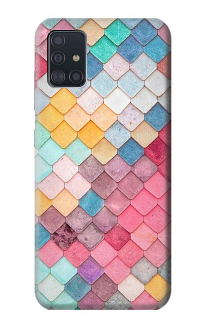 S2947 Candy Minimal Pastel Colors Case For Samsung Galaxy A51