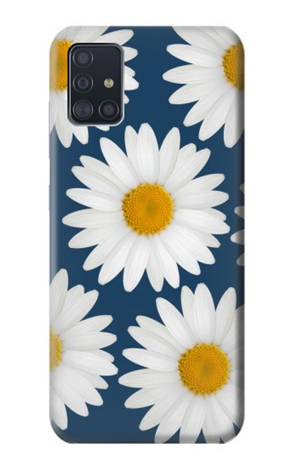 S3009 Daisy Blue Case For Samsung Galaxy A51