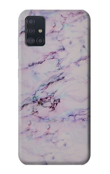 S3215 Seamless Pink Marble Case For Samsung Galaxy A51