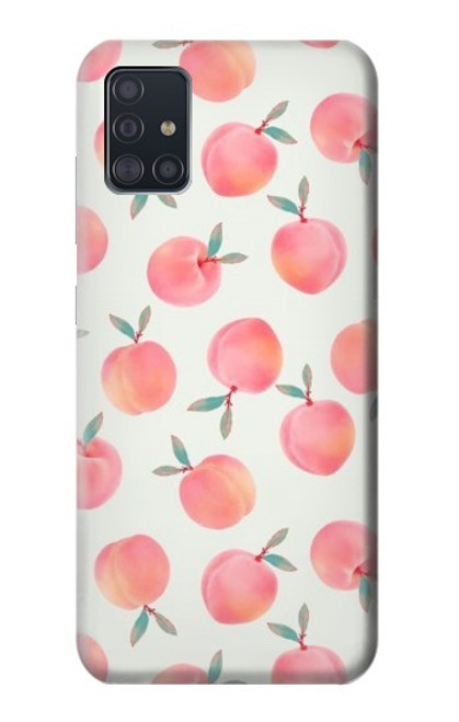 S3503 Peach Case For Samsung Galaxy A51
