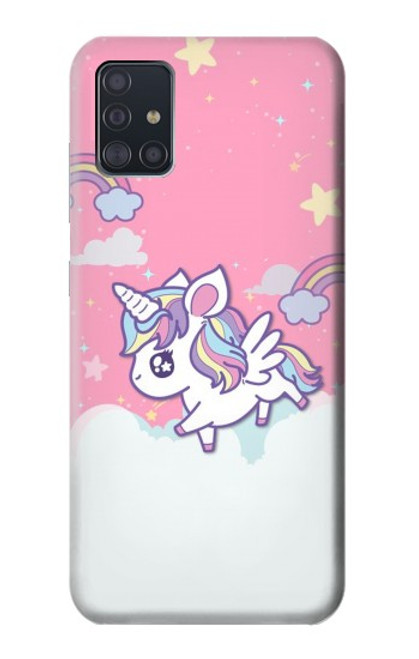 S3518 Unicorn Cartoon Case For Samsung Galaxy A51