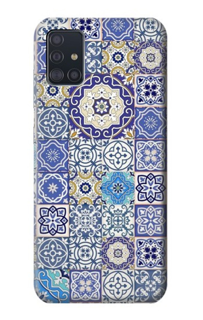 S3537 Moroccan Mosaic Pattern Case For Samsung Galaxy A51
