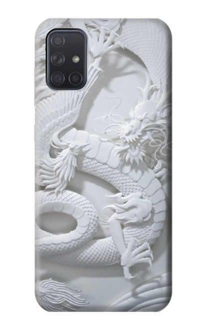 S0386 Dragon Carving Case For Samsung Galaxy A71