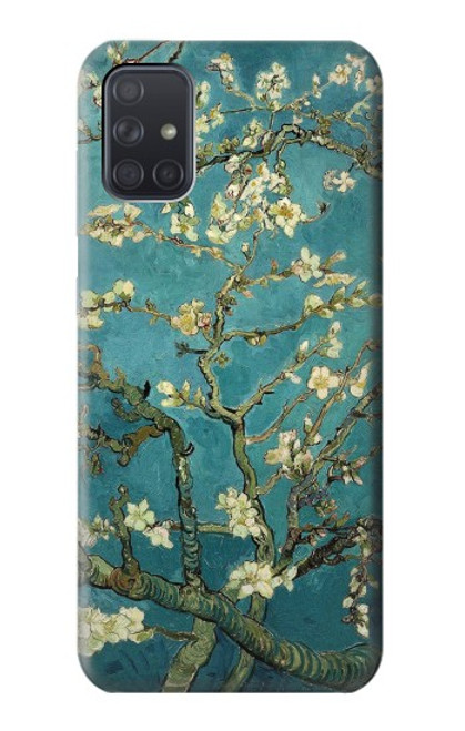 S0842 Blossoming Almond Tree Van Gogh Case For Samsung Galaxy A71