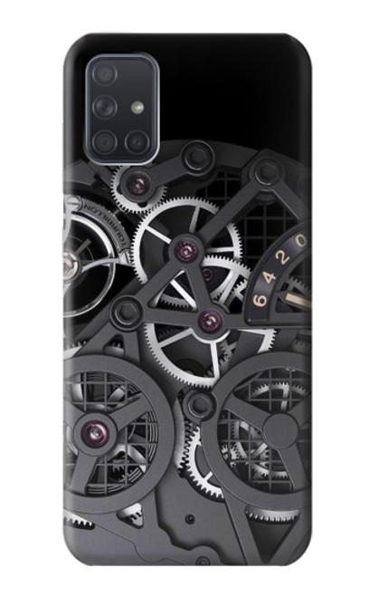 S3176 Inside Watch Black Case For Samsung Galaxy A71