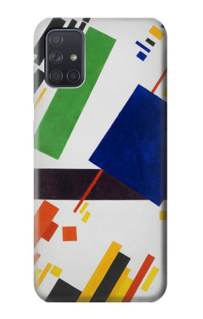 S3343 Kazimir Malevich Suprematist Composition Case For Samsung Galaxy A71