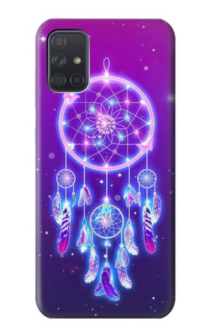 S3484 Cute Galaxy Dream Catcher Case For Samsung Galaxy A71