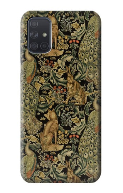 S3661 William Morris Forest Velvet Case For Samsung Galaxy A71