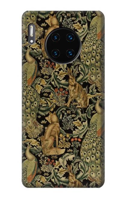 S3661 William Morris Forest Velvet Case For Huawei Mate 30, Mate 30 5G