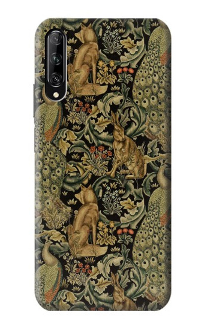 S3661 William Morris Forest Velvet Case For Huawei P smart Pro 2019