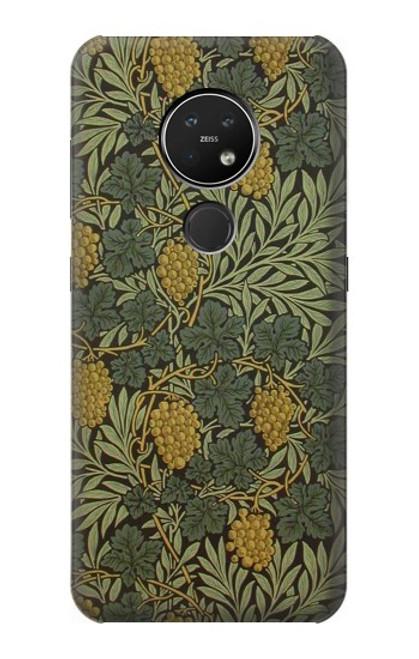 S3662 William Morris Vine Pattern Case For Nokia 7.2