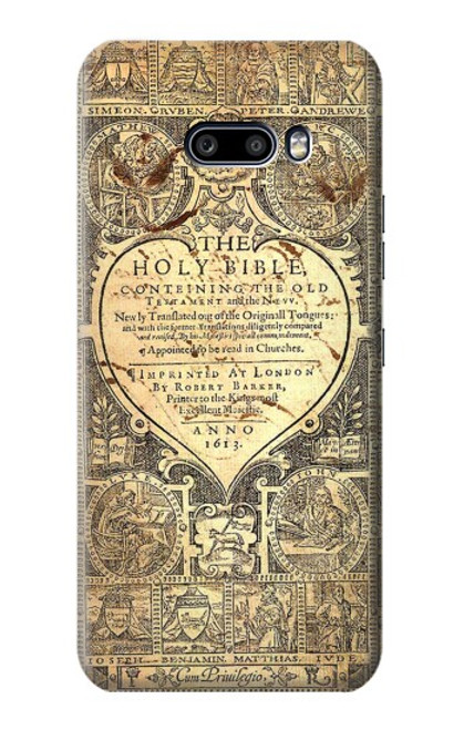 S0330 Bible Page Case For LG G8X ThinQ