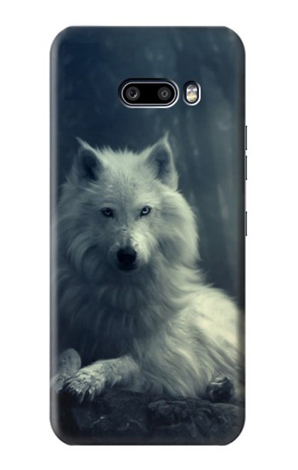 S1516 White Wolf Case For LG G8X ThinQ
